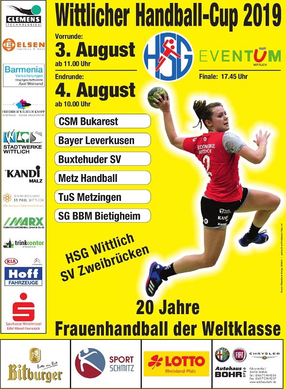 Wittlicher-Handball-Cup-2019-Plakat